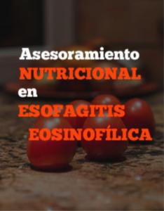 Asesoramiento nutricional en EoE