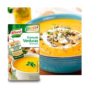Crema de verduras Ligeresa