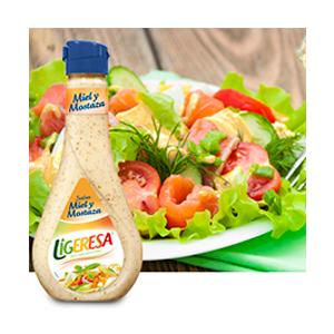 Salsa Miel y mostaza Ligeresa