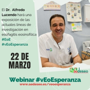 Webinnar con Dr. Lucendo