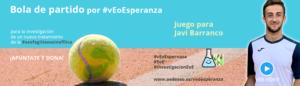 Bola de partido para Javi Barranco