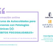 Curso de autocuidados para personas con patologías Crónicas (II): Hábitos psicosaludables